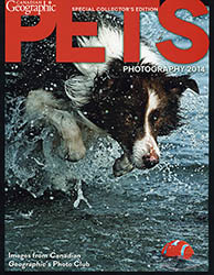 Canadian Geographic Pets Cover